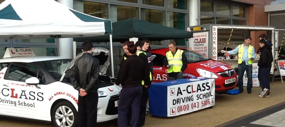 Automatic driving lessons a class driving school for Motor city driving school